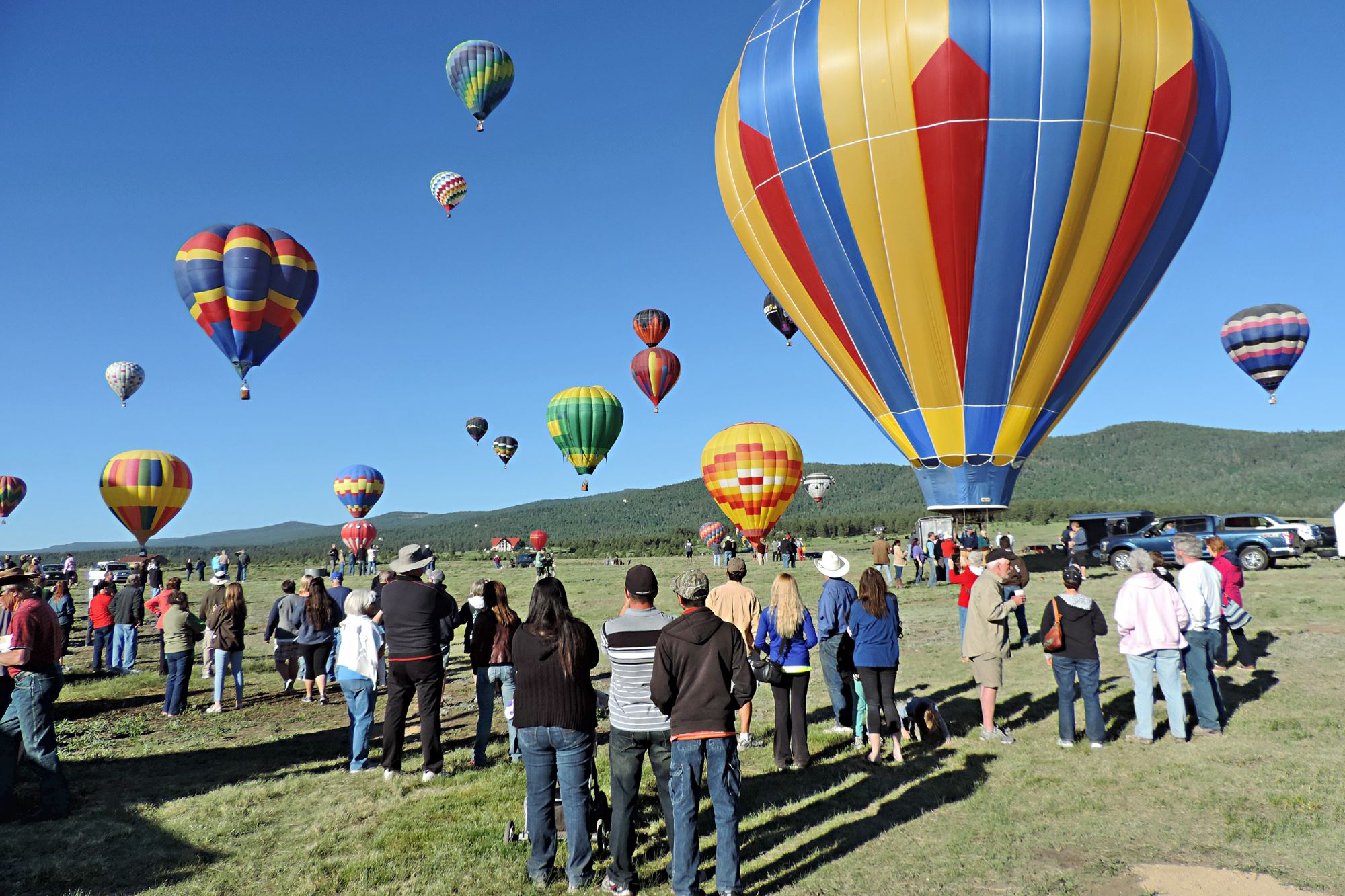 Balloons Over Angel Fire @ Angel Fire Balloon Field | Angel Fire | New Mexico | United States